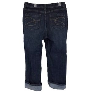 Chico's cropped Cuffed Stretch Jeans